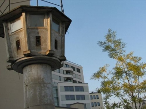 Former Berlin Wall Guard Tower ©Insider Tour