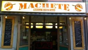 Machete Burrito Box