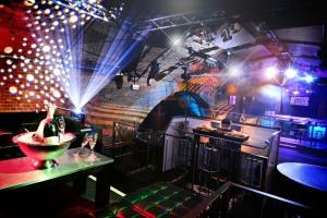 VIP Lounge overlooking the Dance Floor
