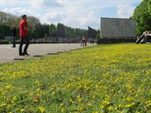 Springtime at the Soviet War Memorial - Treptower Park