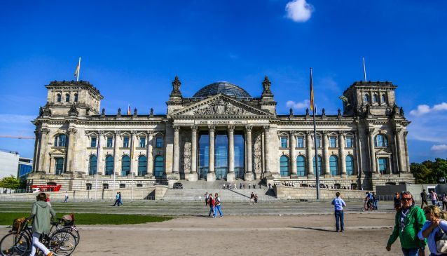 The Reichstag -The German Parliament Building