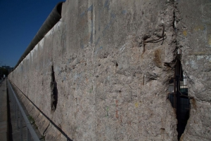 Remains of the Berlin Wall at the Topography of Terror Exhibition