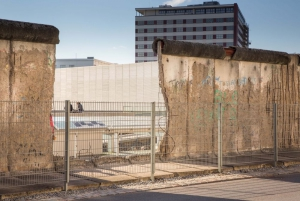 Remains of Berlin Wall at the Topography of Terror