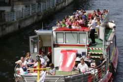 Boat tour on the River Spree