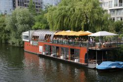 'Patio' restaurant on the Spree