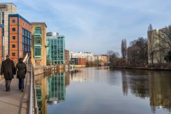 Walking along the River Spree