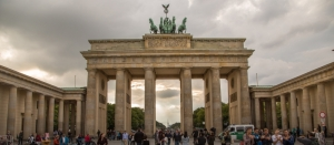 The Brandenburger Tor in Berlin Mitte
