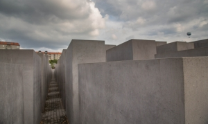 The Holocaust Memorial in Mitte