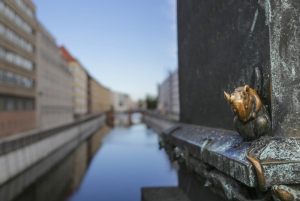 The River Spree with a cute mouse