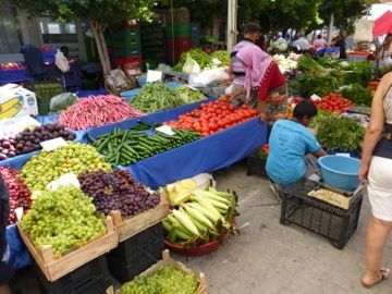 Yalikavak Market, Thursdays