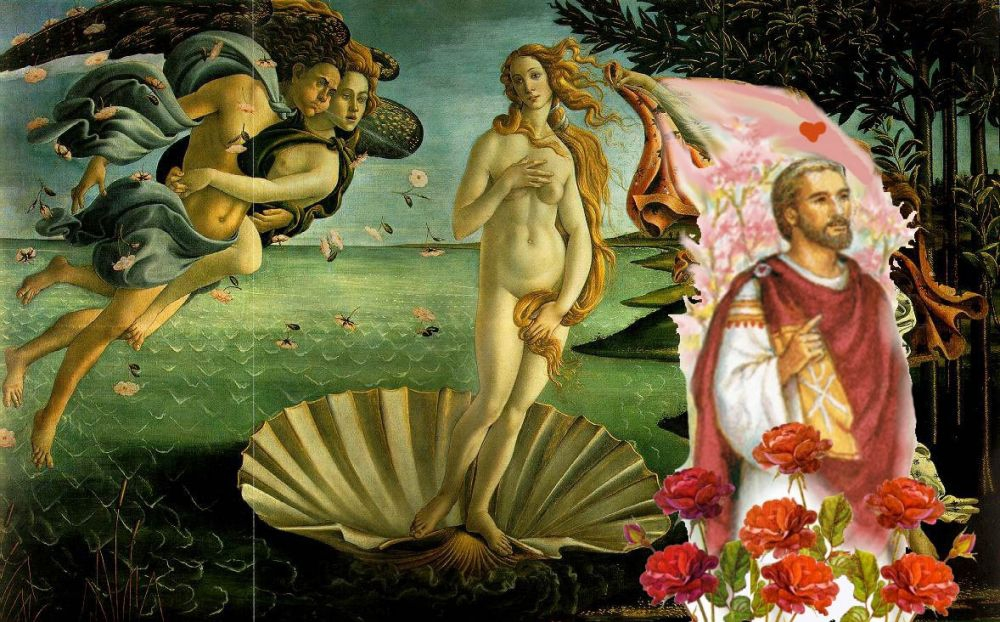 Saint Valentine and Venus