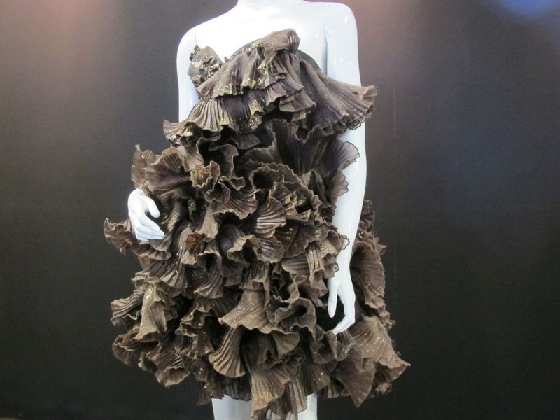 Chocolate Shaving Dress