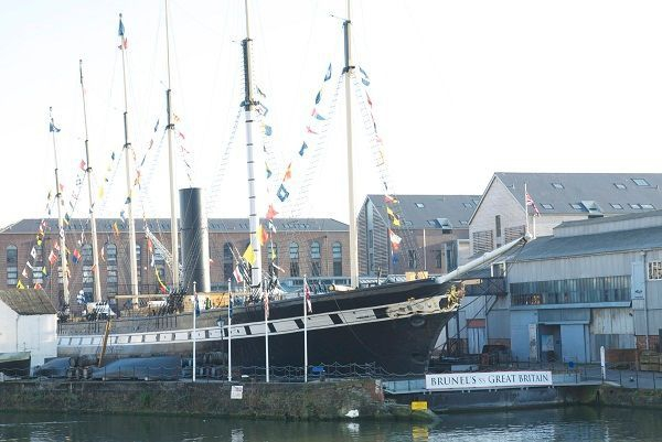 Brunel?s ss Great Britain (Credit: N Hindmarsh)