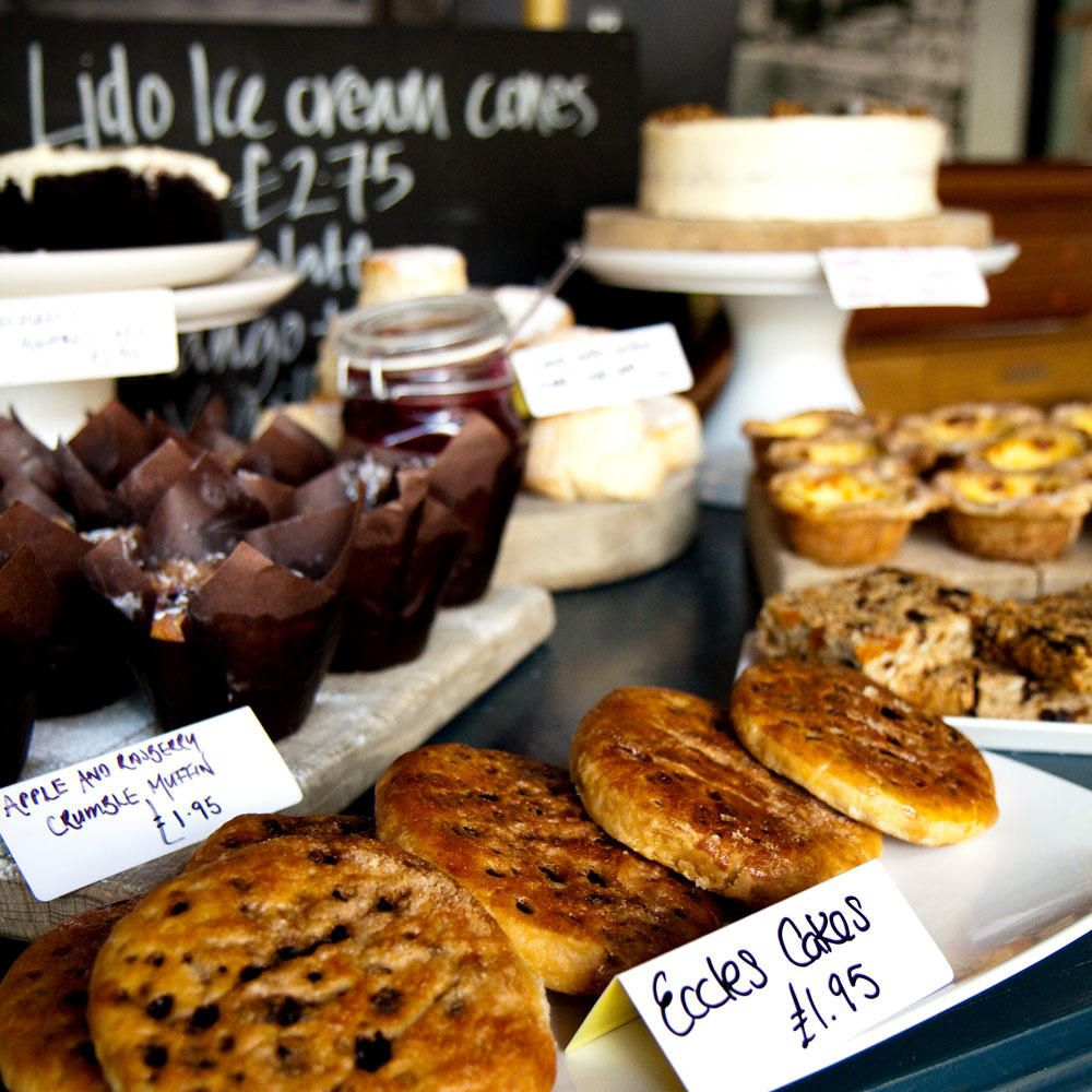 Cakes at the Lido