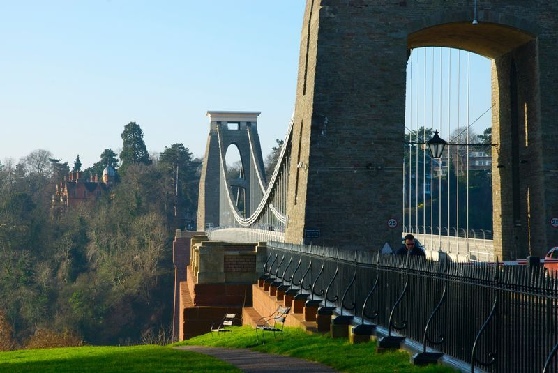 The Clifton Suspension Bridge. Credit: N Hindmarch