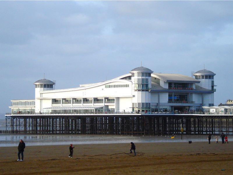 The pier at Weston-super-Mare