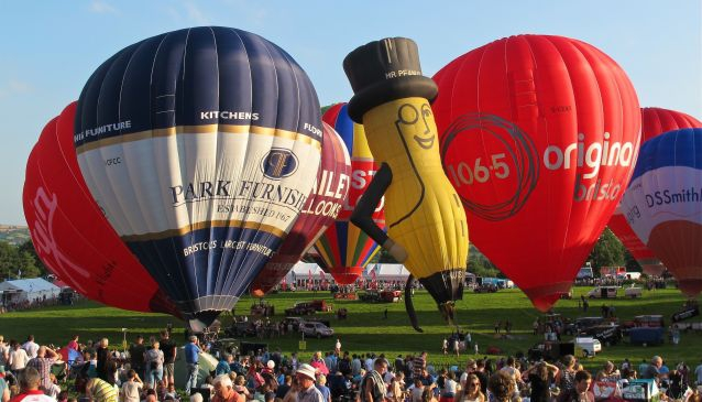 Bristol International Balloon Fiesta.