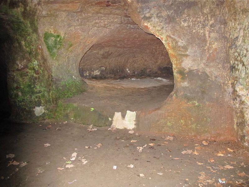 A hidden cave