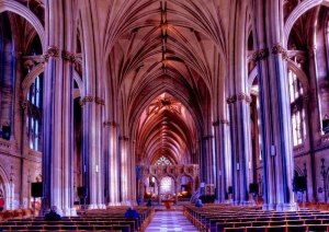 Interior of Bristol Cathedral