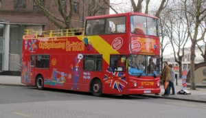 The City Sightseeing Bristol open-top bus tour