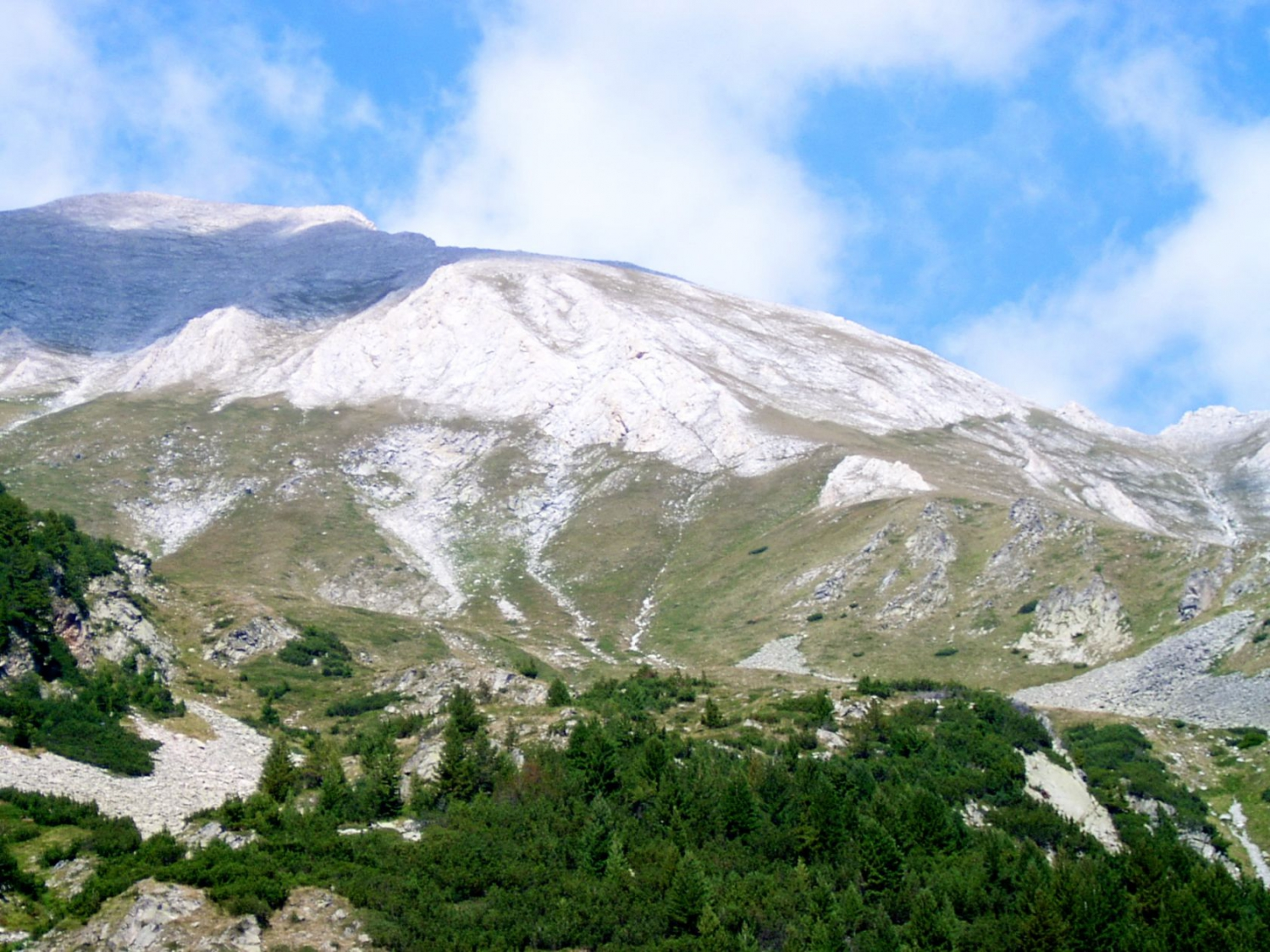 The Mountain around Bansko