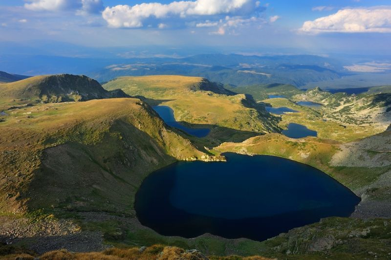 Rila Mountain with its magical Seven Lakes