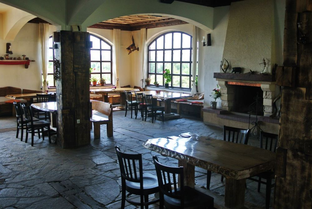 Restaurant at the winery by Winery Complex Starosel