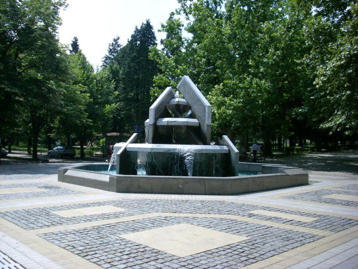 Fountain in Varshec Park