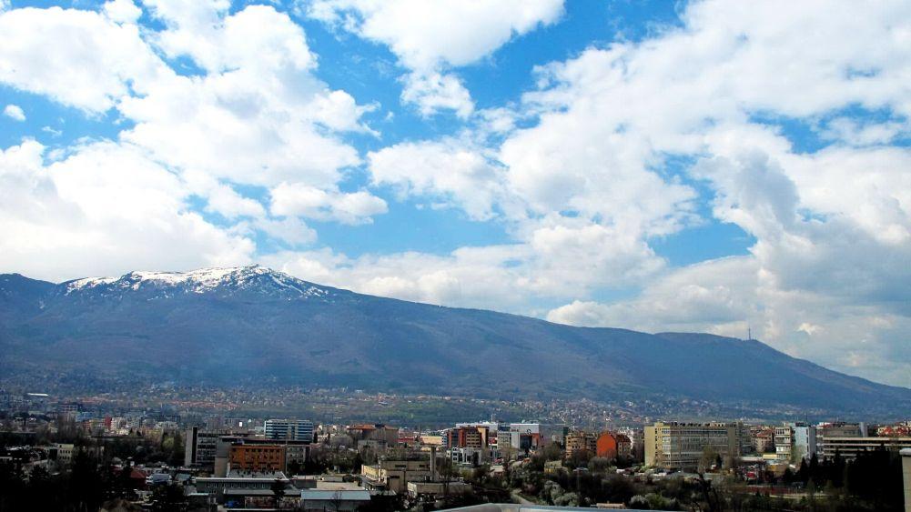 Sofia and the mountain