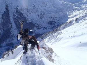 Climbing in Pirin Mountain