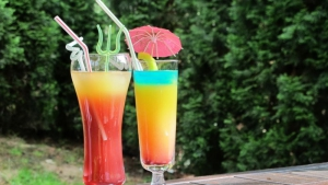 The 'umbrella' drinks - must in the hot summer days