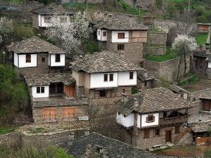 A popular view of Kovachevitsa from afar
