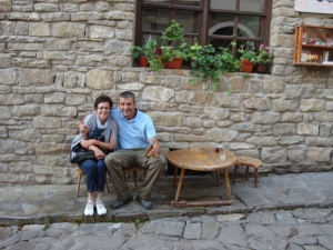 Anette from Germany, Veliko Tarnovo old town