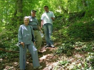 Golda family from Israel, Strandja mountain