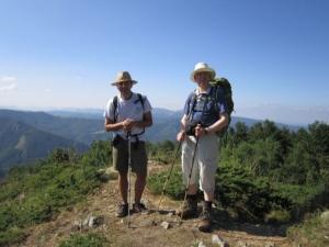 Mark from England, on the way to Kozia Stena hut