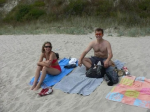 Patrick showed this nice German couple some wild beaches