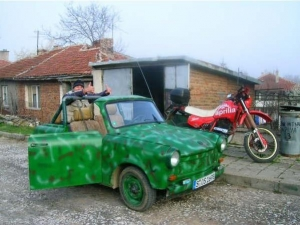 The off-road Trabant