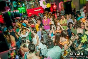 Caribbean party at Club Sugar