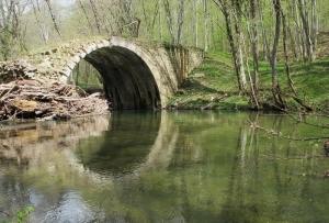 Ancient Venetian bridge, Strandzha mountain