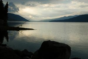 Dospat Dam by Kliment Kostov