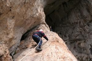 Entrance to Haramiiska Cave, Rhodopa Mountain