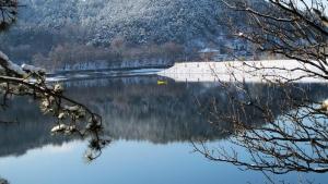 Pancharevo Lake near Sofia