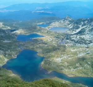 The Seven Rila Lakes by L.Ruskova