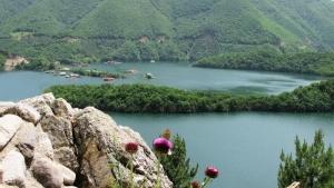 Vatcha Dam at Rhodopa Mountain