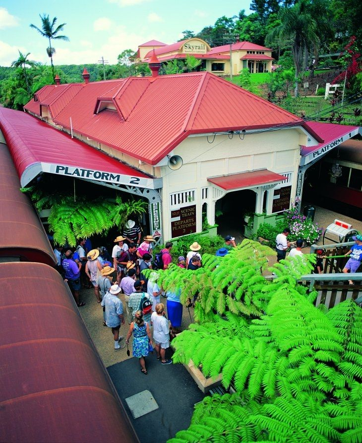 Kuranda Train & Skyrail Terminals