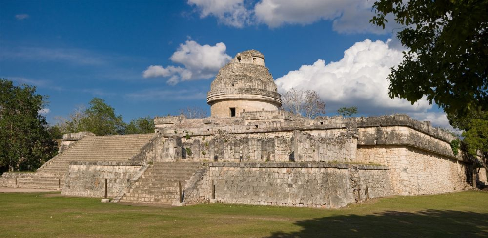 The Mayan Observatrory in Chichen Itza