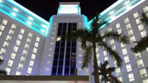 RIU at night