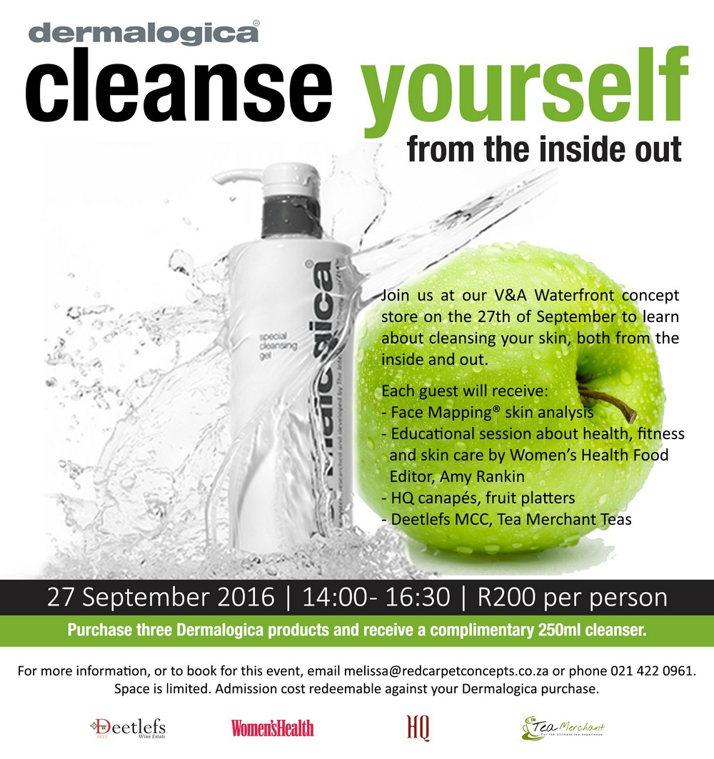 Cleanse From The Inside Out (V&A Waterfront)