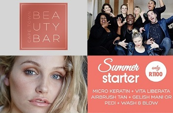 The Summer Starter Pack Special At Cape Town Beauty Bar