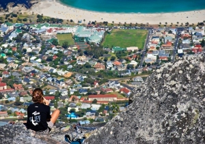Camps Bay from Table Mountain © Jovan Djokic